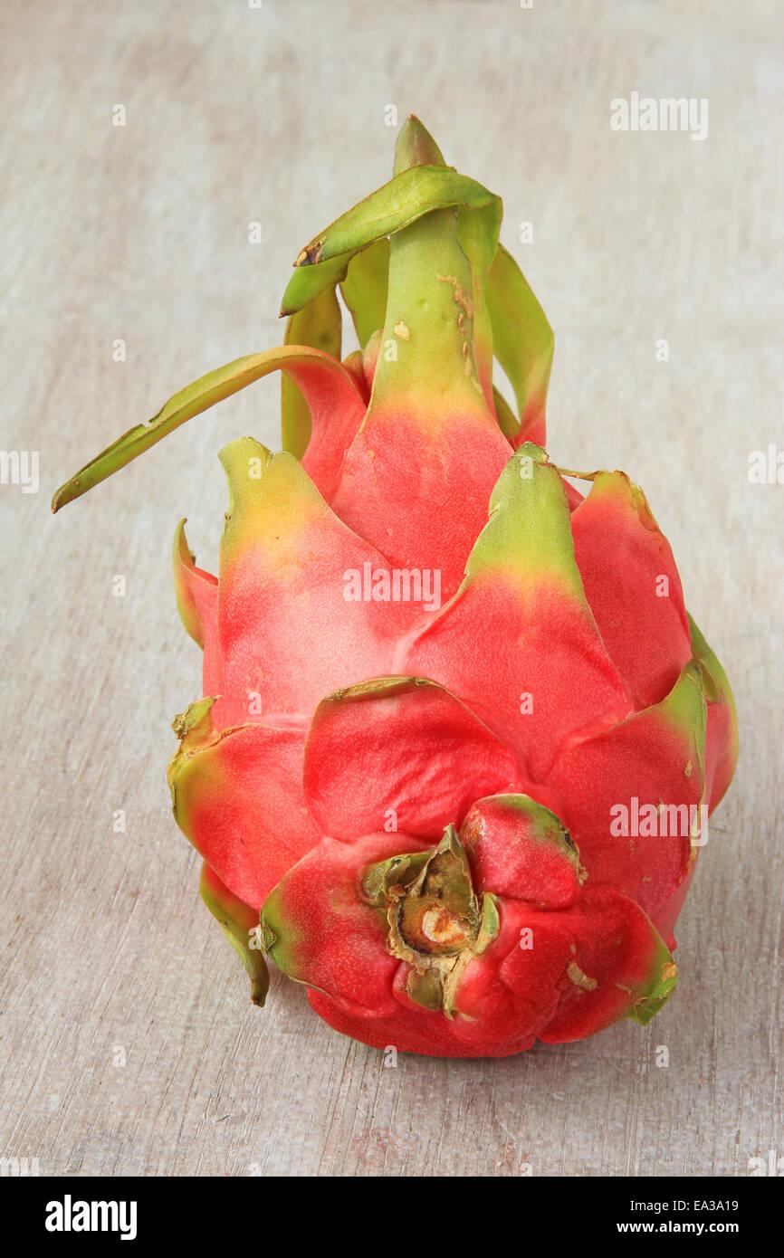 Dragon fruit (Hylocereus undatus) - Stock Image