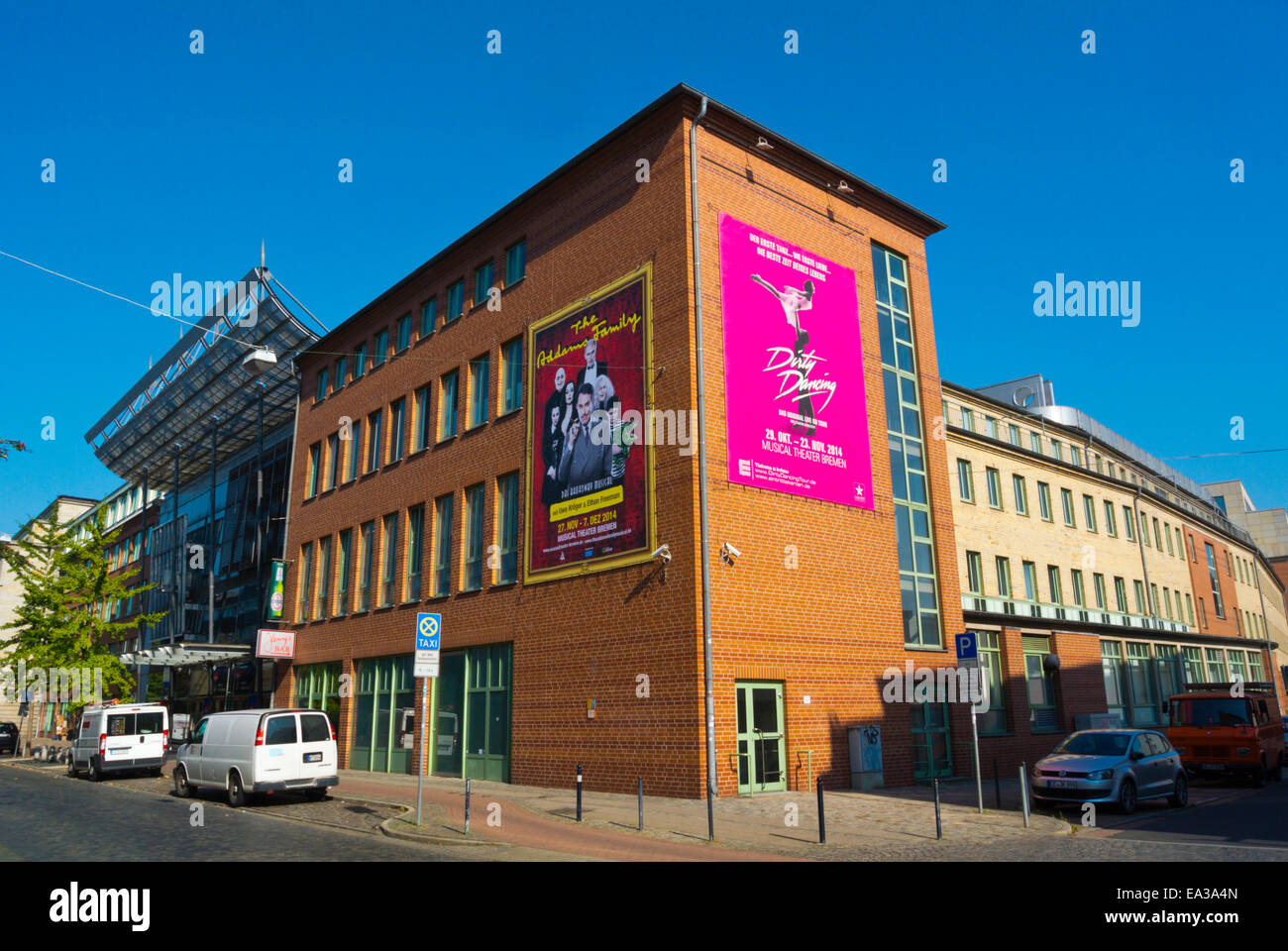 Das Musical Theater, Bremen, Germany - Stock Image