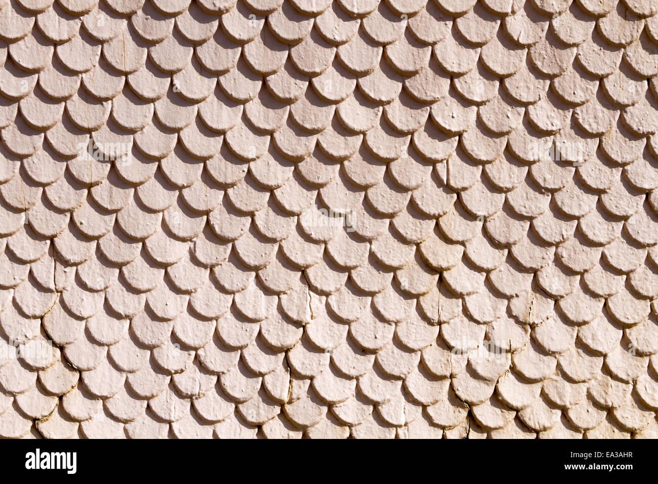 wooden shingles Stock Photo
