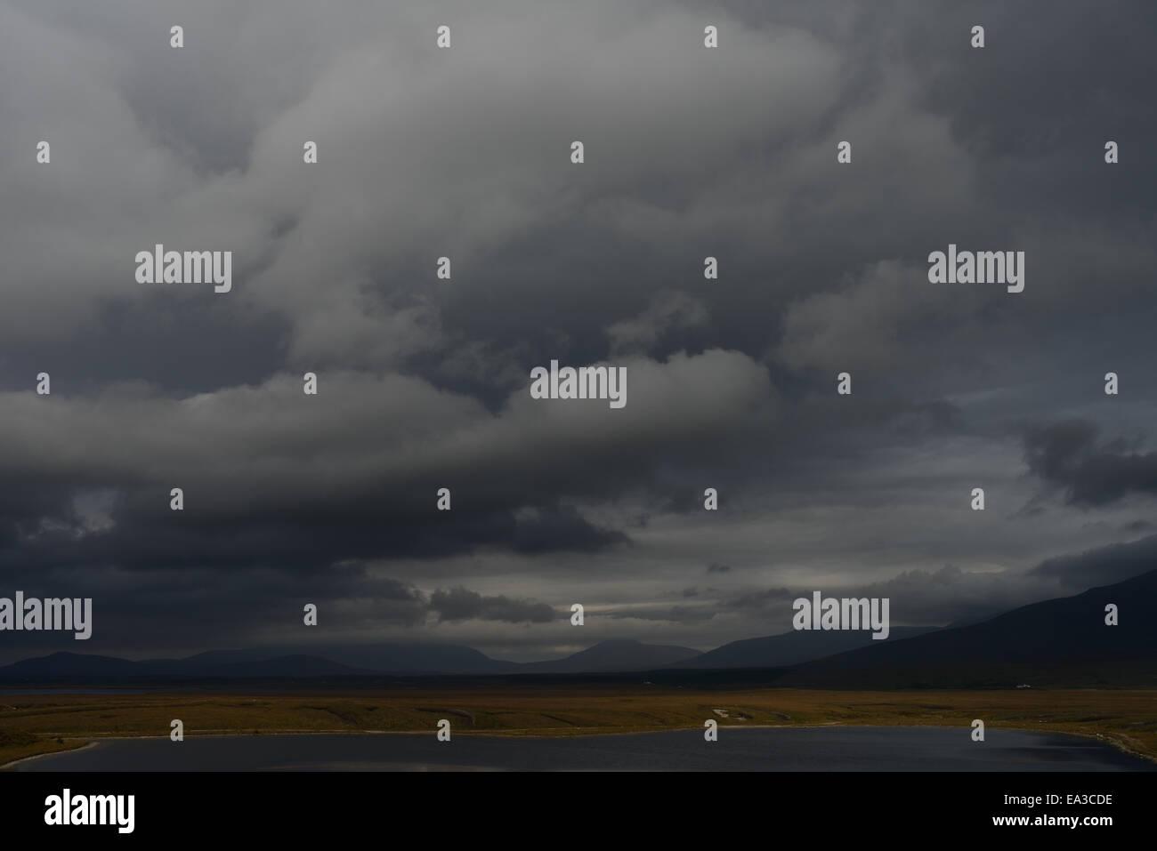 View on Achill Island Ireland - Stock Image