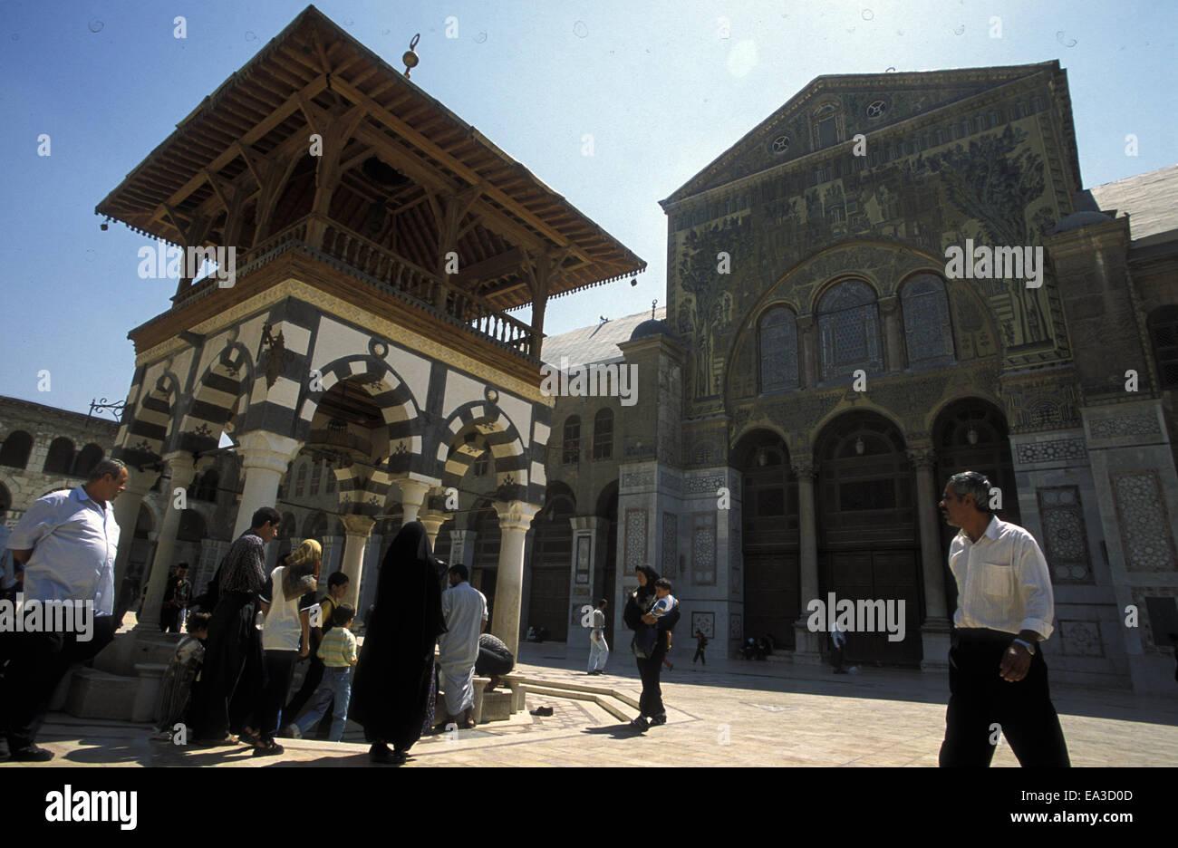 SYRIEN DAMASKUS - Stock Image