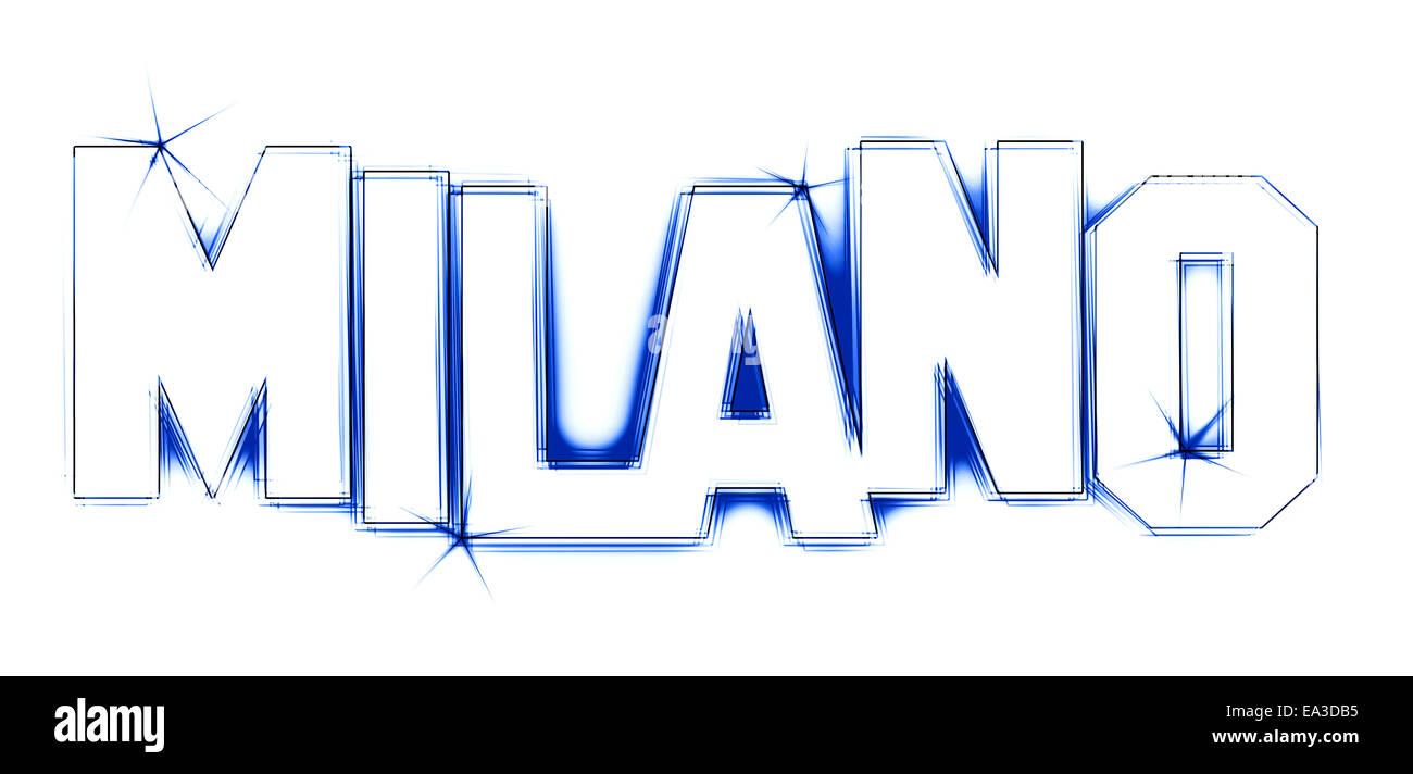 MILANO - Stock Image