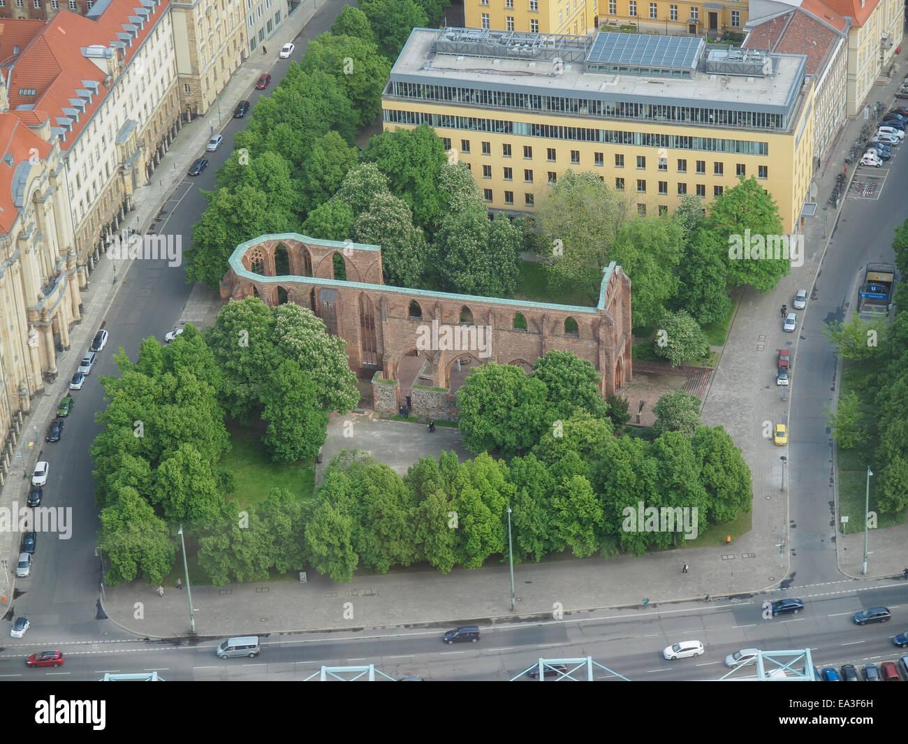 Klosterkirche Berlin - Stock Image
