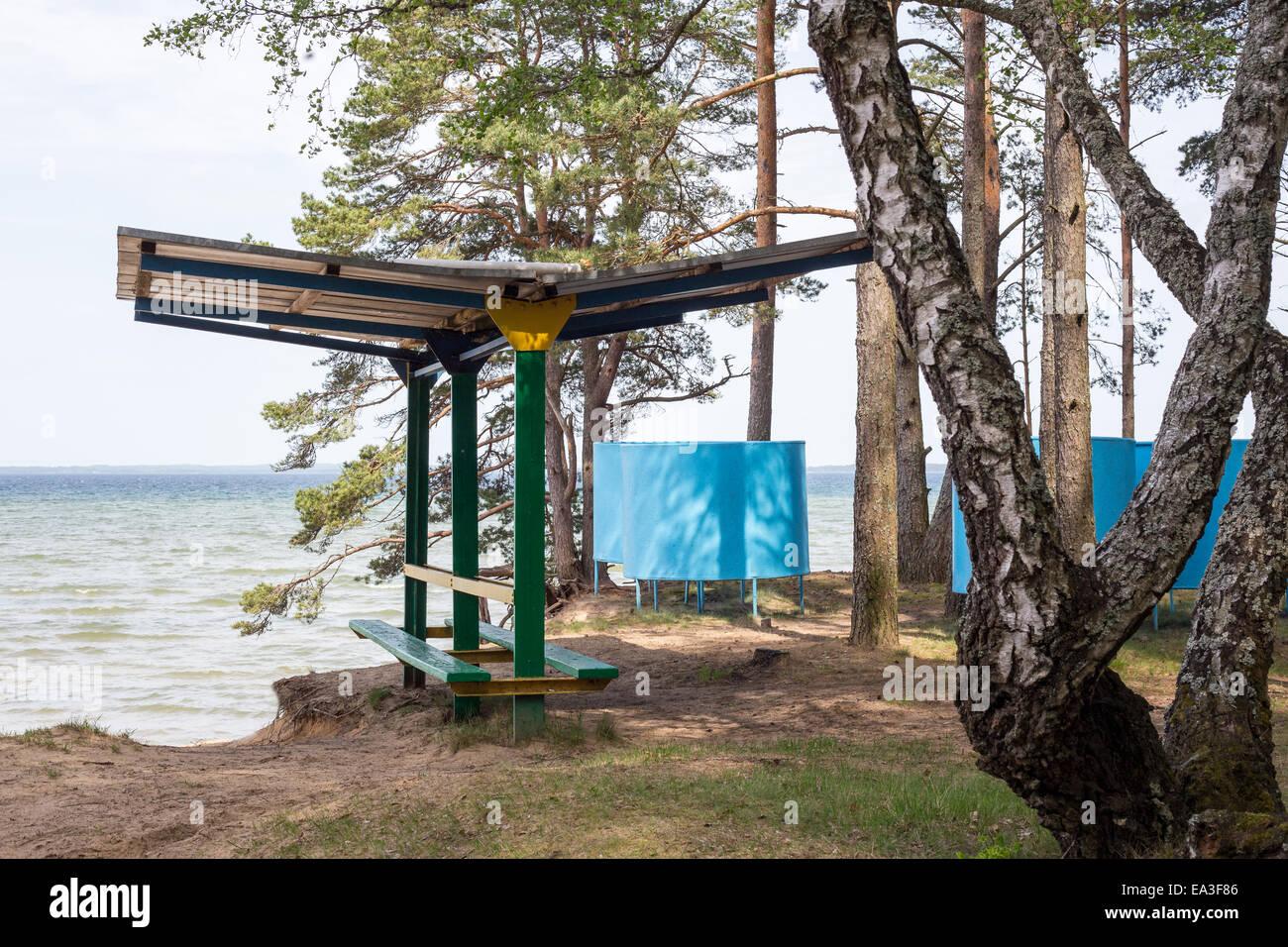 Lake Narach, Minsk region, Belarus - Stock Image
