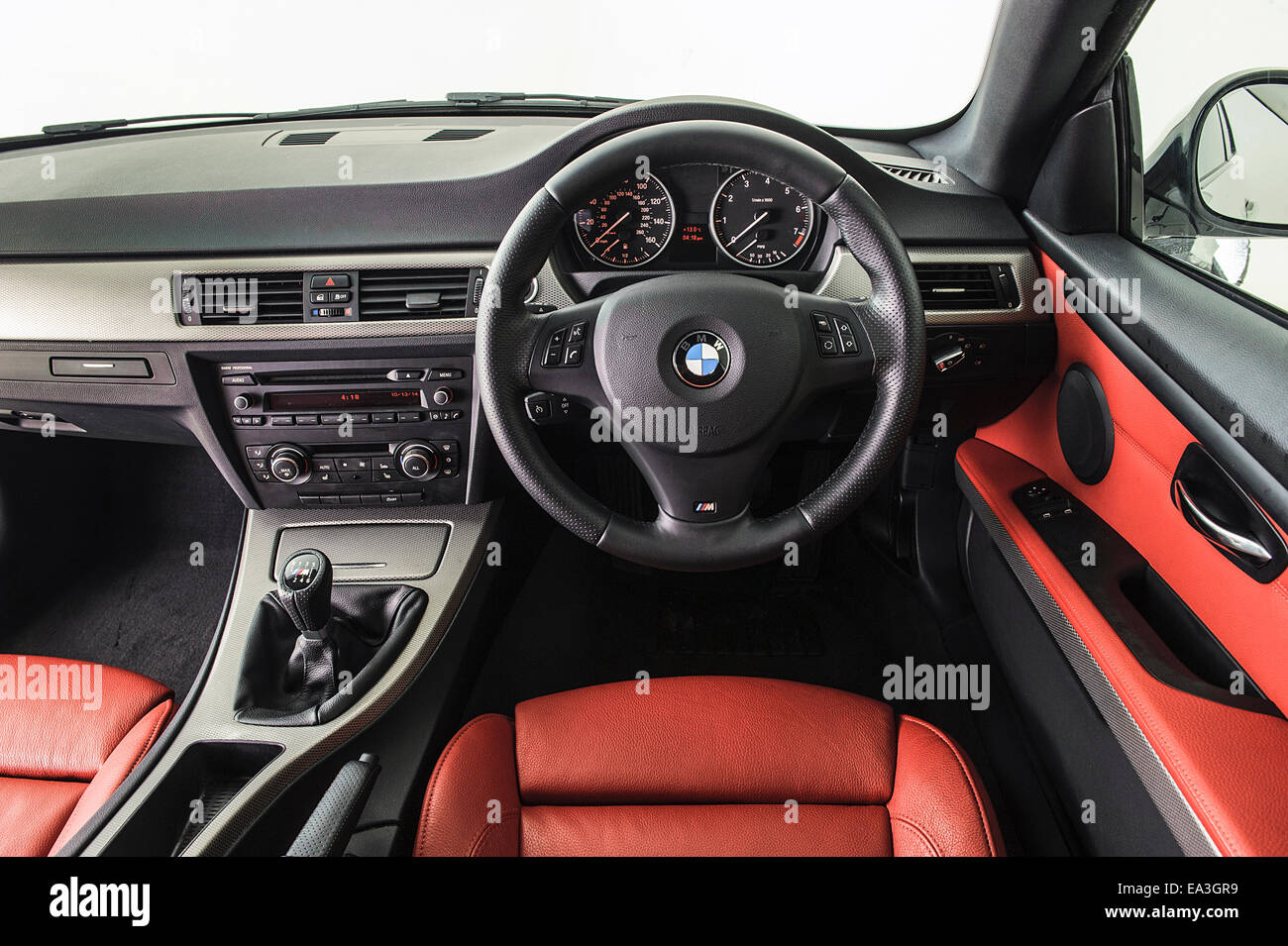 Bmw 3 Series Interior High Resolution Stock Photography And Images Alamy