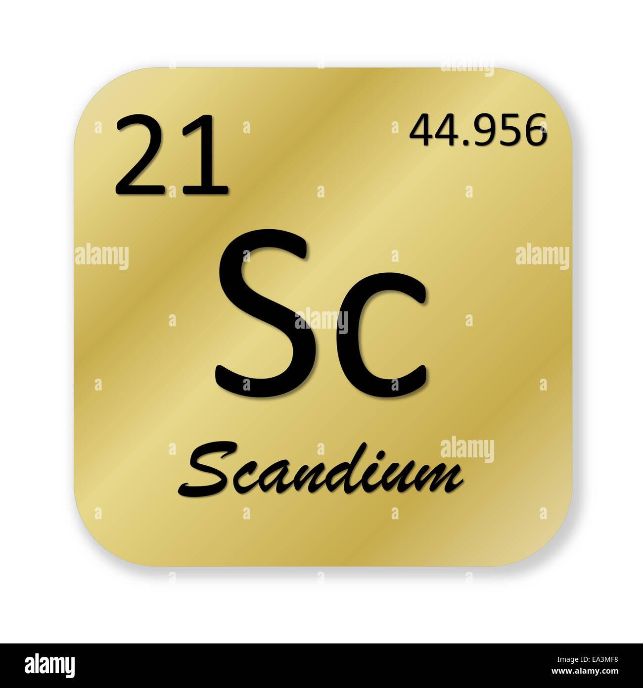 Scandium Element Stock Photos Scandium Element Stock Images Alamy