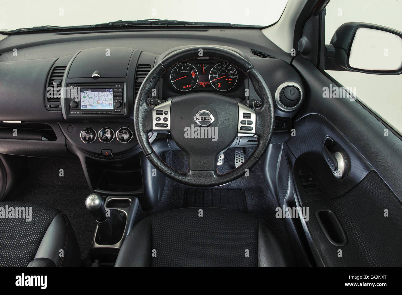 2009 Nissan Note Stock Photo