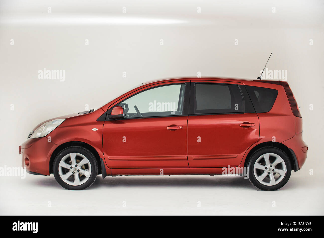 2009 Nissan Note - Stock Image
