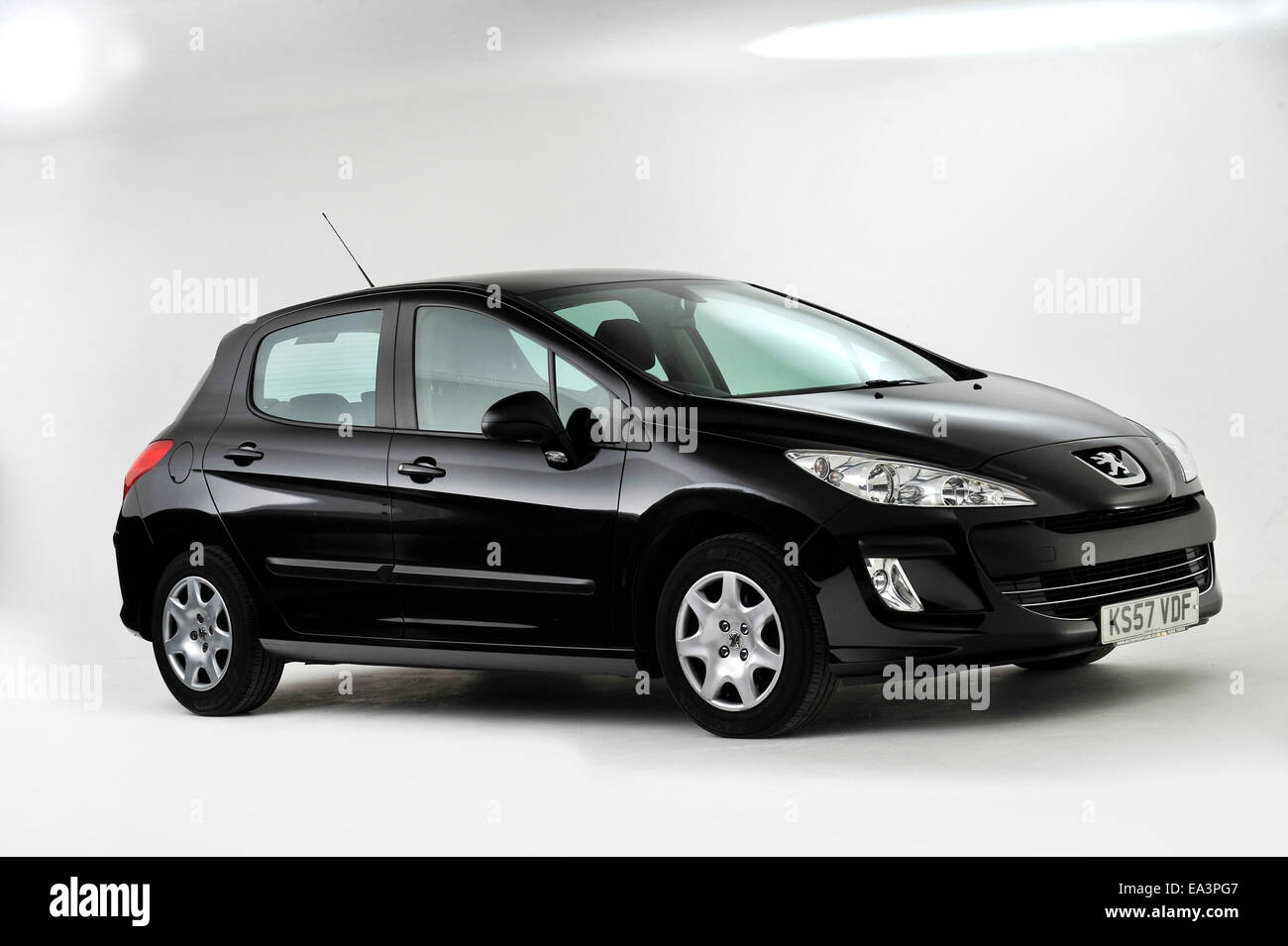 2007 Peugeot 308 - Stock Image
