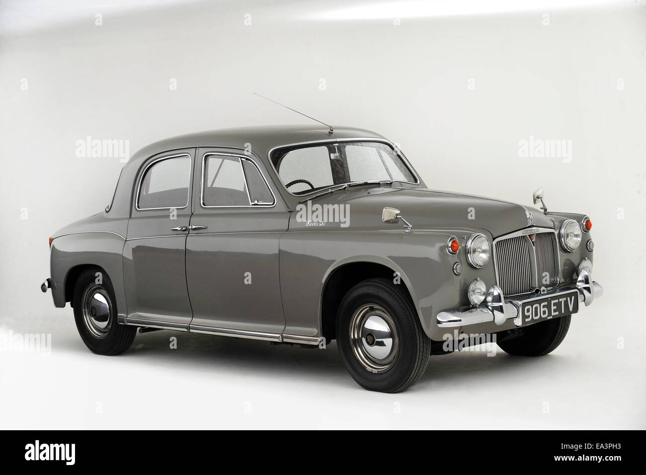 1958 Rover 90 - Stock Image