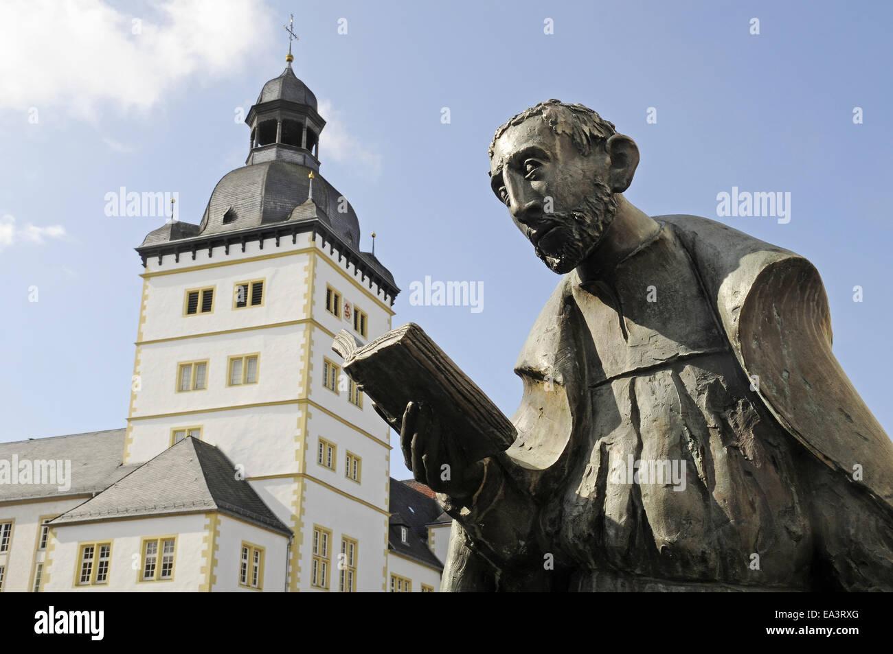 Friedrich von Spee, memorial, Paderborn, Germany - Stock Image