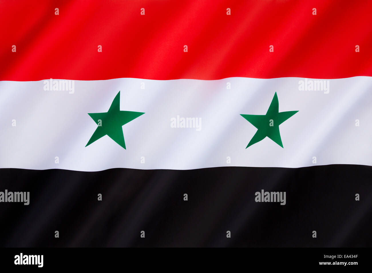 Flag of Syria - Stock Image