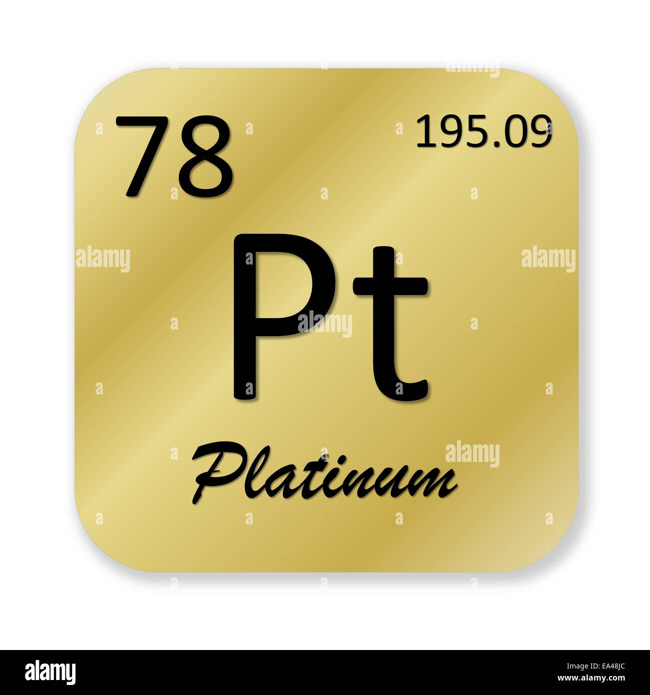 vector element image chemical royalty free platinum