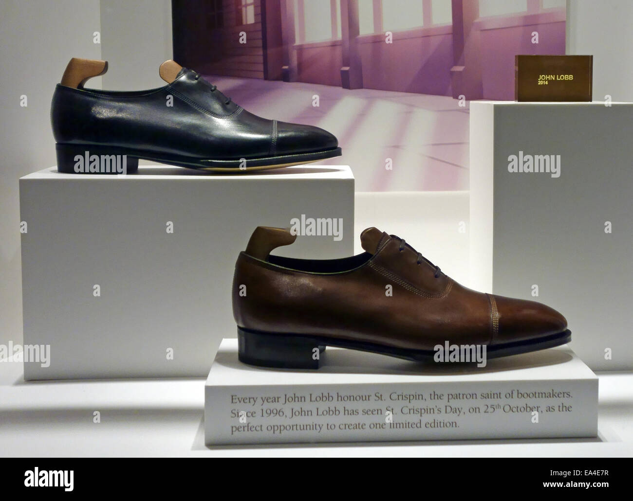 John Lobb footwear shop, Jermyn Street, London - Stock Image