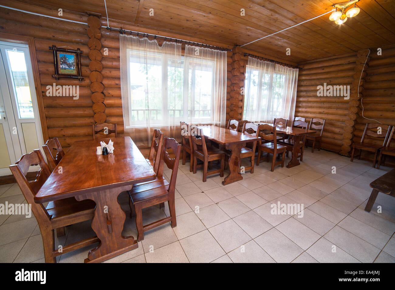 Interior Design Of Modern Restaurant Stock Photo Alamy