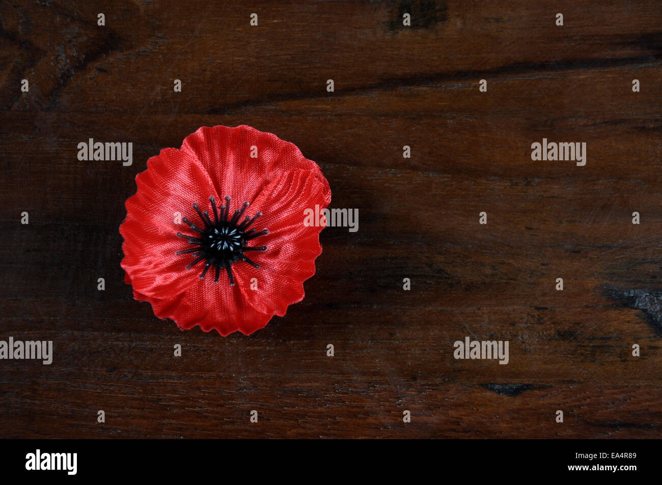 Lest We Forget Red Flanders Poppy Lapel Pin Badge For November 11