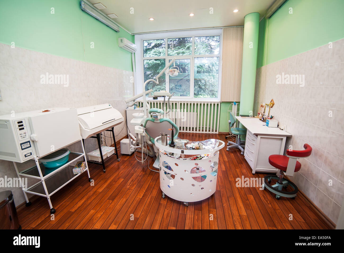 Consulting room, stomatology - Stock Image