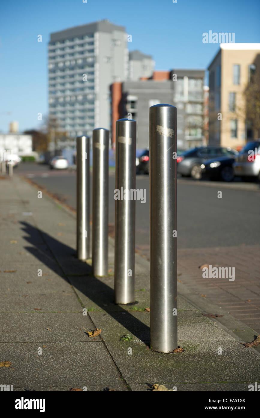 Street furniture. - Stock Image