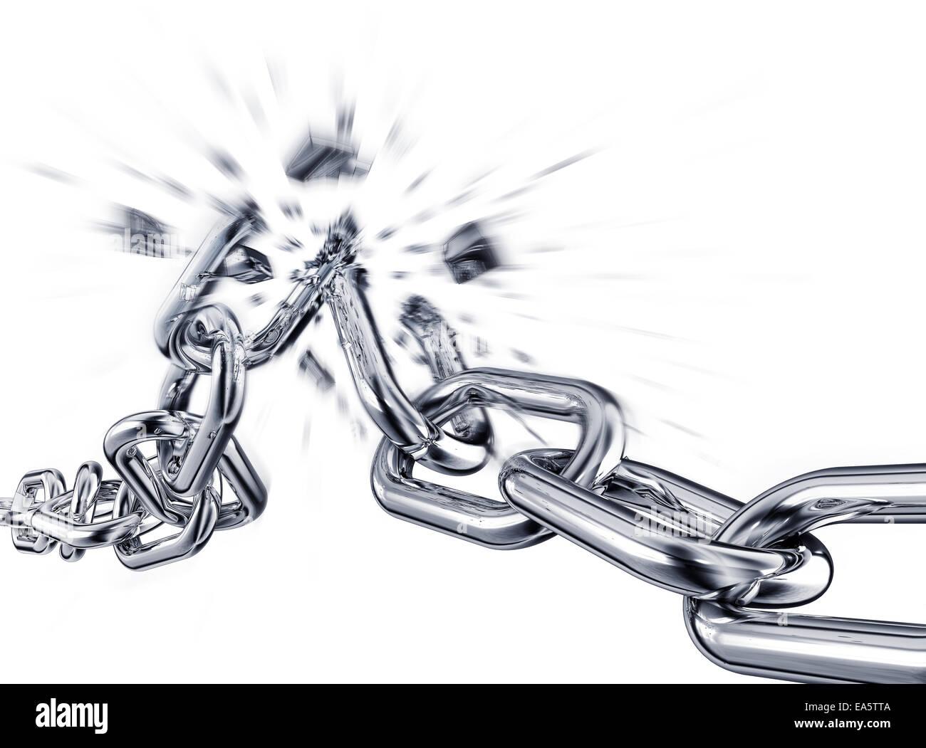 Broken Chain Stock Photos Images