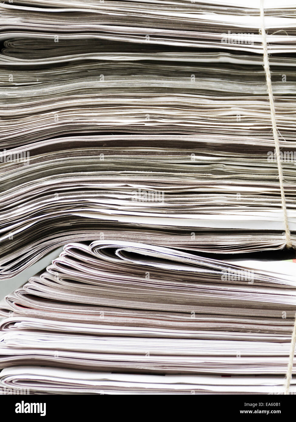 newspapers - Stock Image