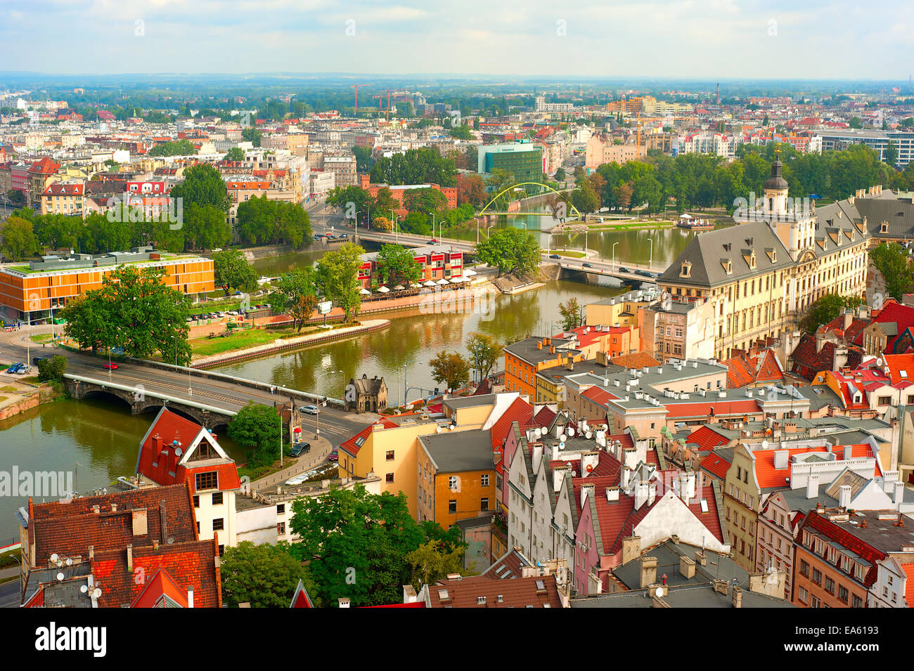 Wroclaw Old Town - Stock Image