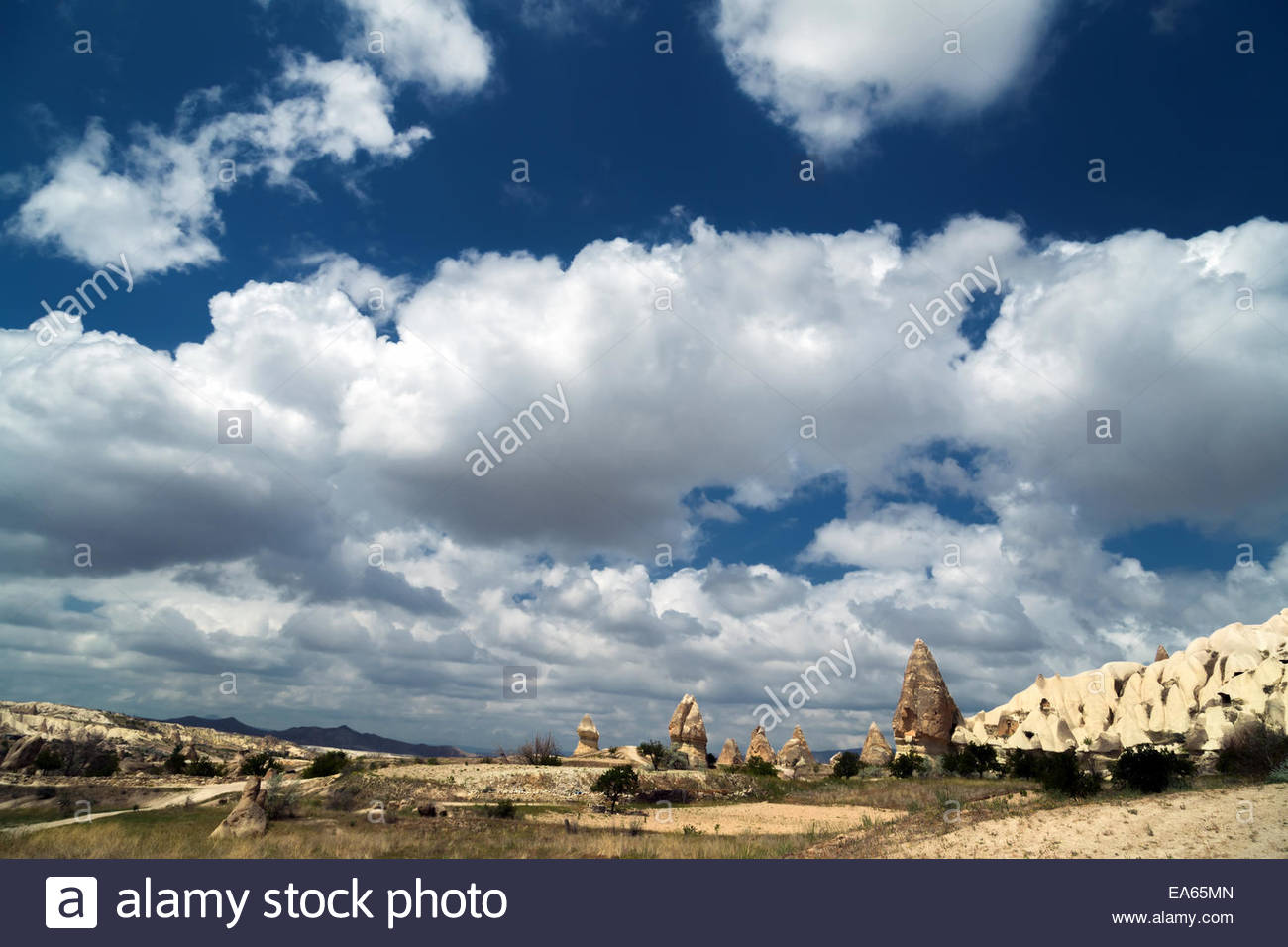 Goreme Open Air Museum, Turkey - Stock Image