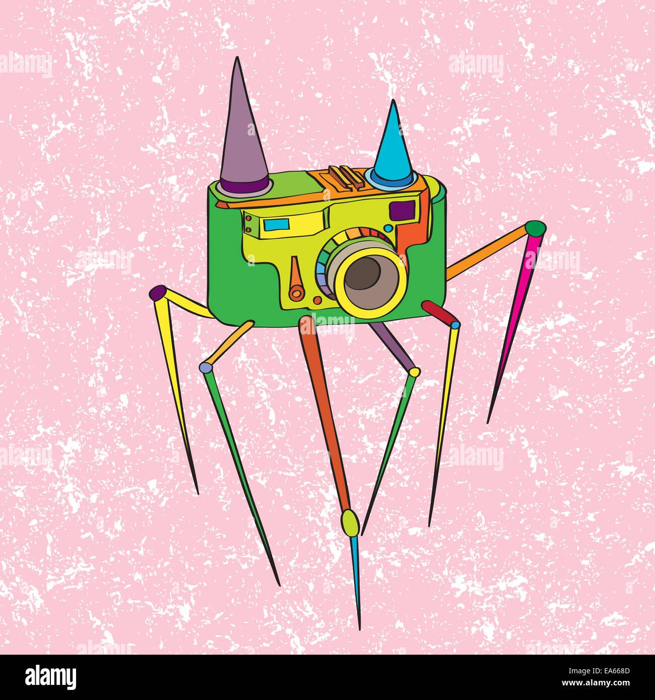 Photo Shutter Icon Cartoon Illustration Stock Photos