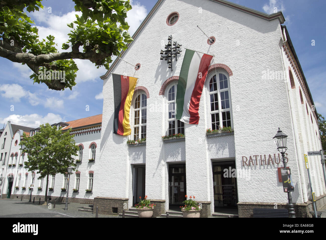Town hall in Xanten, Germany Stock Photo