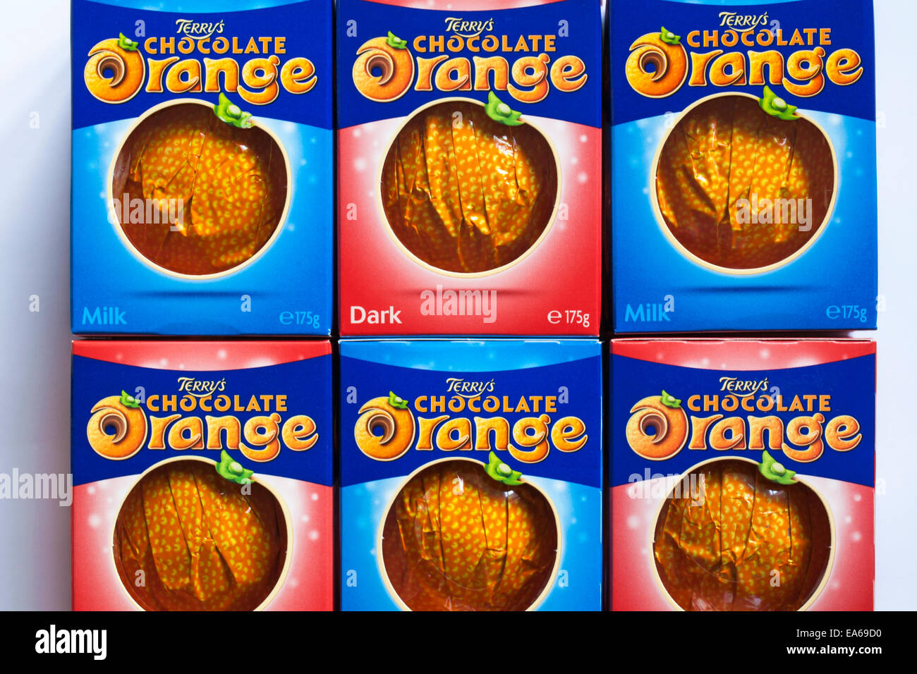 Boxes Of Terrys Chocolate Orange Dark And Terrys Chocolate