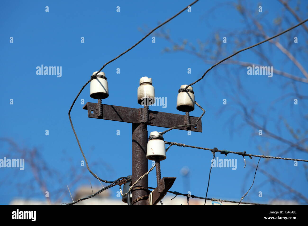 Electric Cable Wires Stock Photos Amp Electric Cable Wires