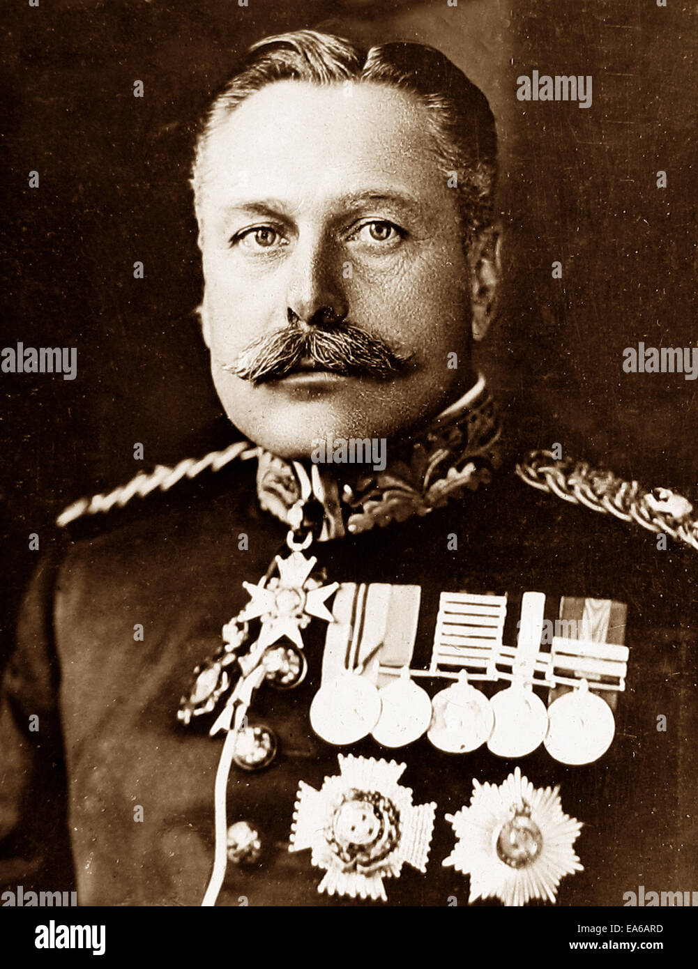 Field Marshall Sir Douglas Haig - Stock Image