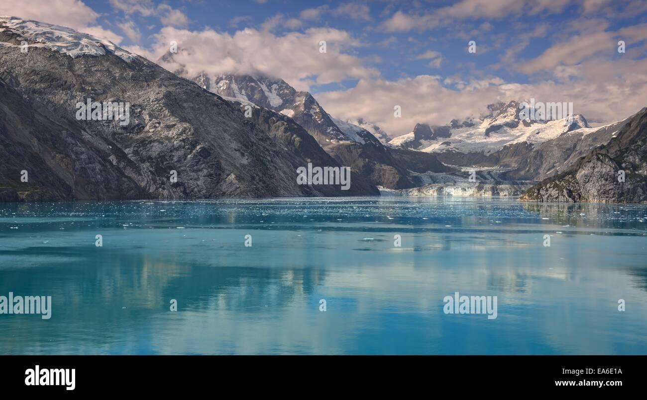 USA, Alaska, Glacier Bay National Park, Johns Hopkins Inlet - Stock Image