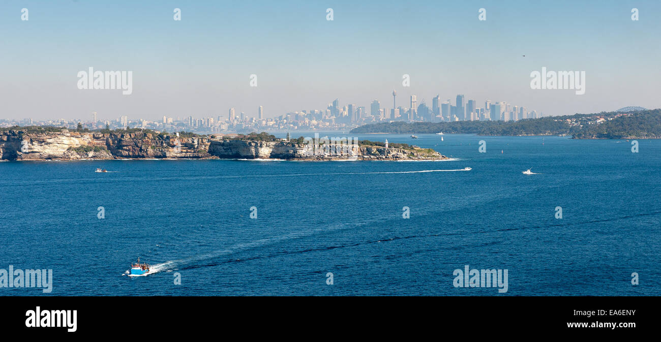 Australia, New South Wales, Sydney, View of cityscape - Stock Image