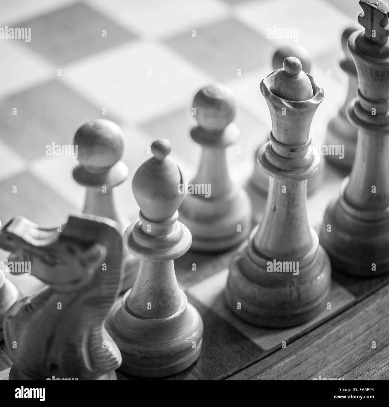 Chess board - Stock Image