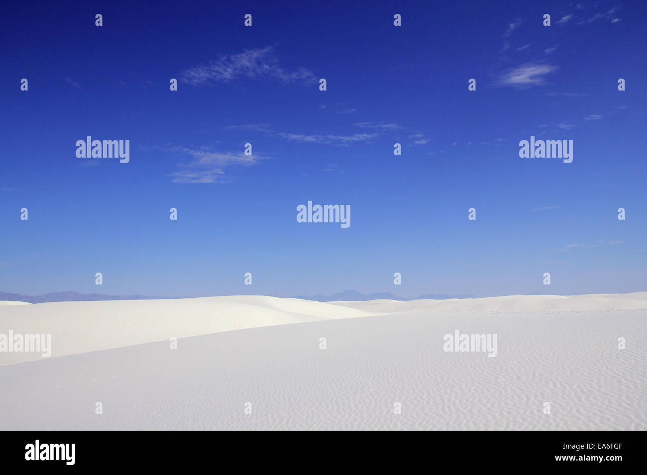 White Sands National Monument - Stock Image