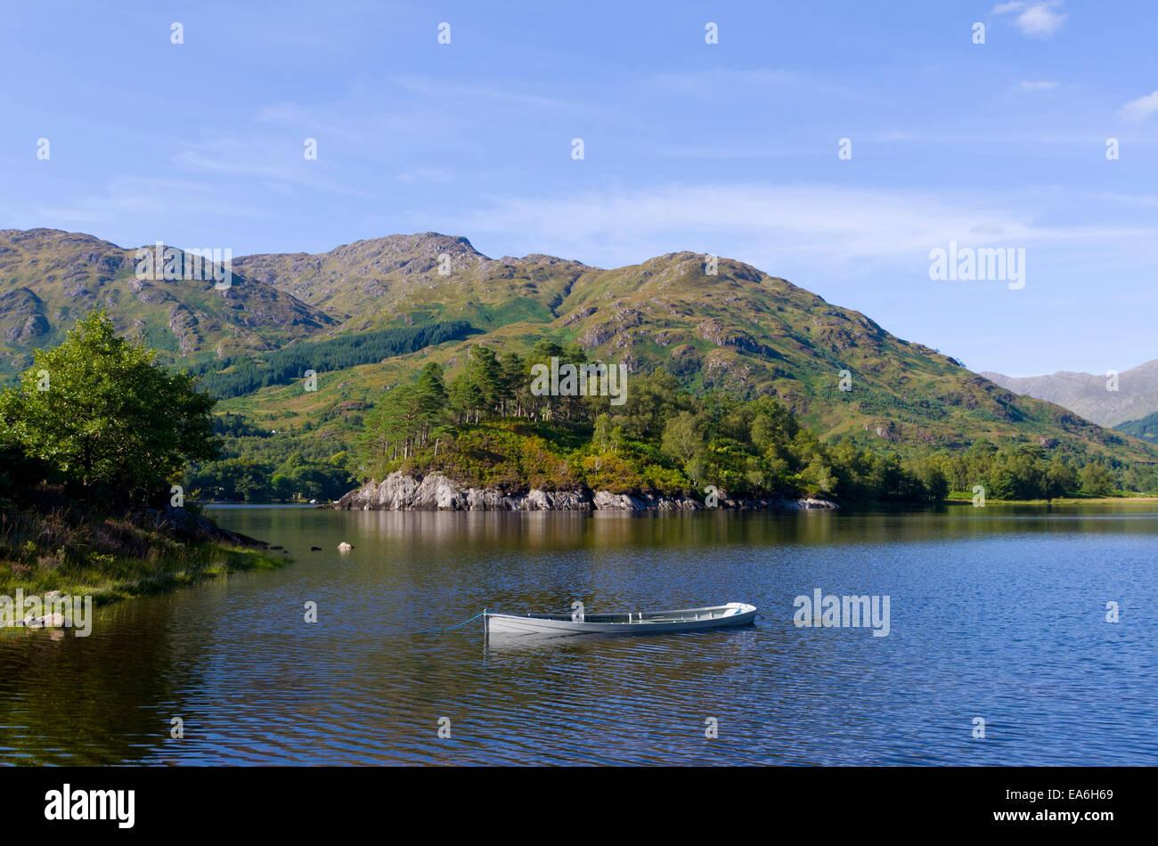 Loch Shiel, Glenfinnan, Lochaber, Inverness-shire, Highland, Scotland, UK - Stock Image
