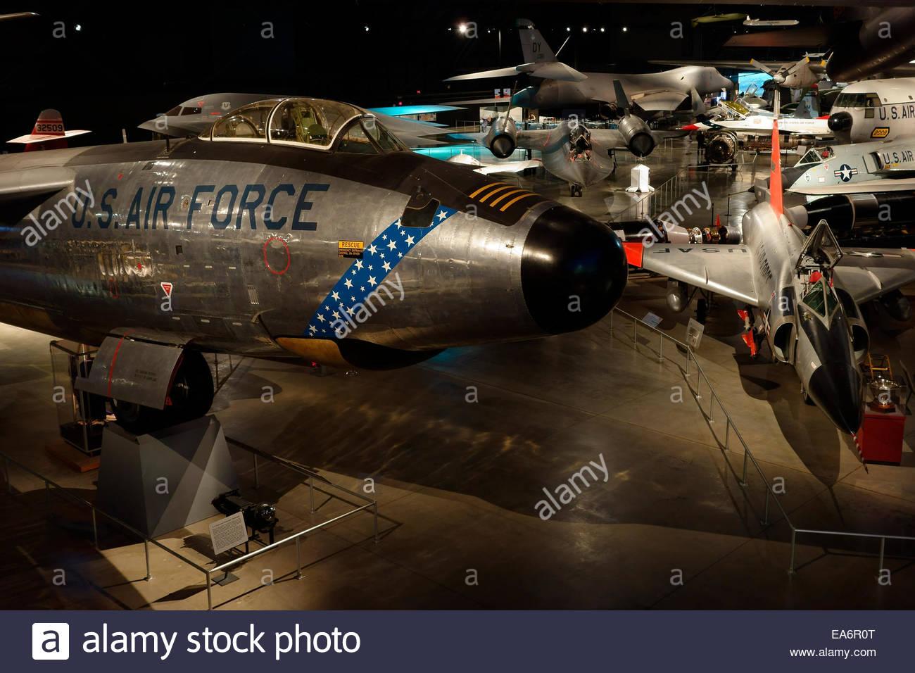 National Museum of the United States Air Force, Dayton, Ohio, USA - Stock Image