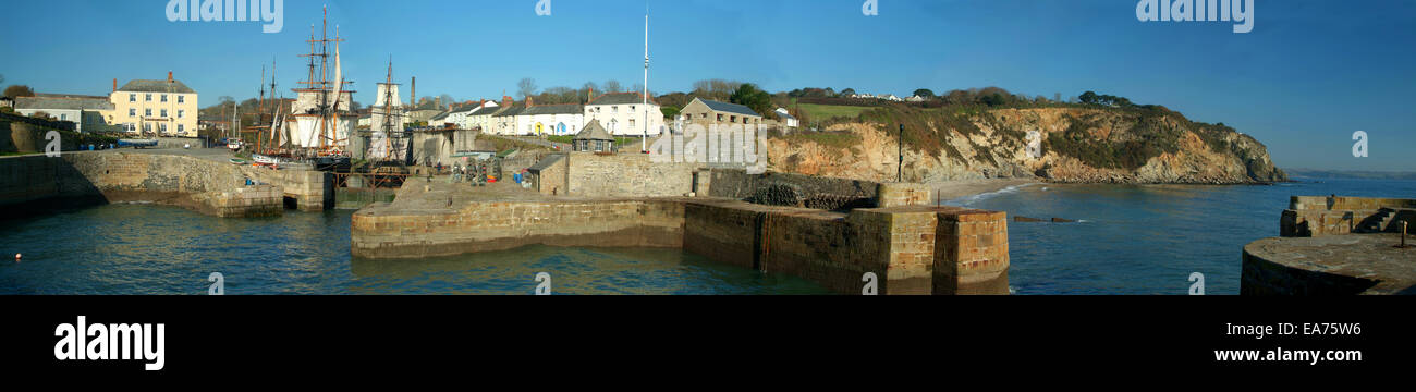 Charlestown Panoramic - Stock Image