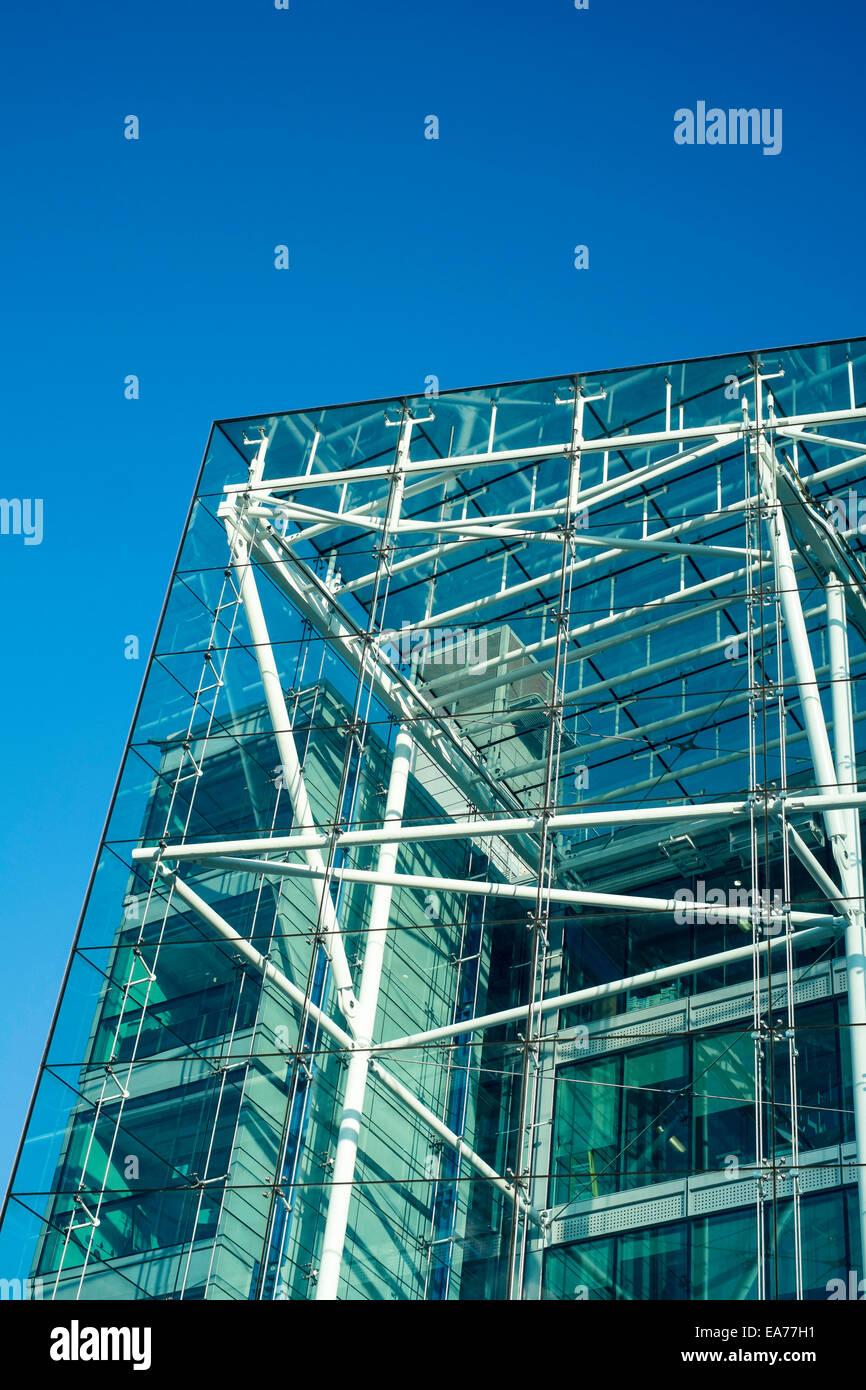 London modern architecture contemporary design UK - Stock Image