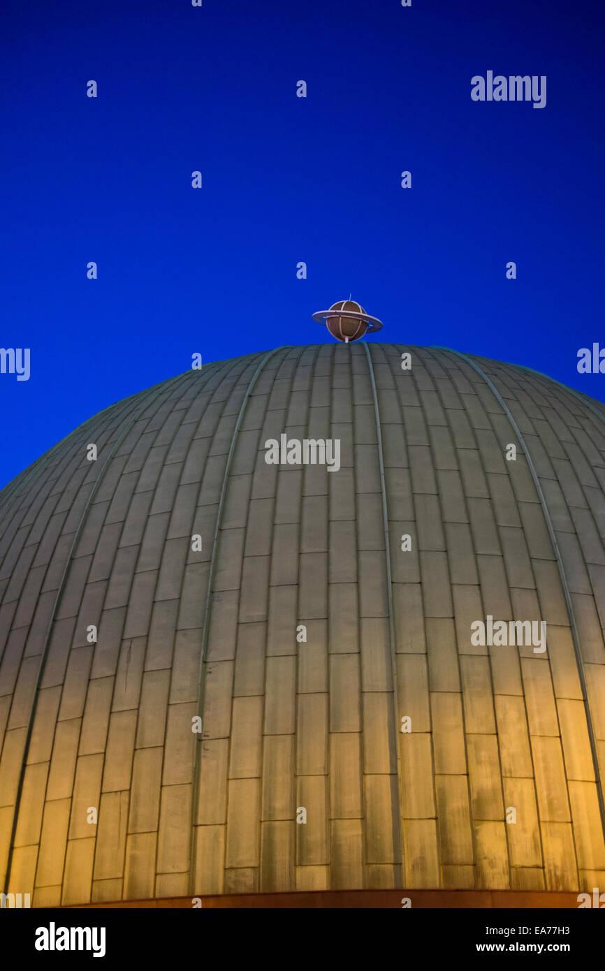 London Planetarium museum landmark tourism UK - Stock Image