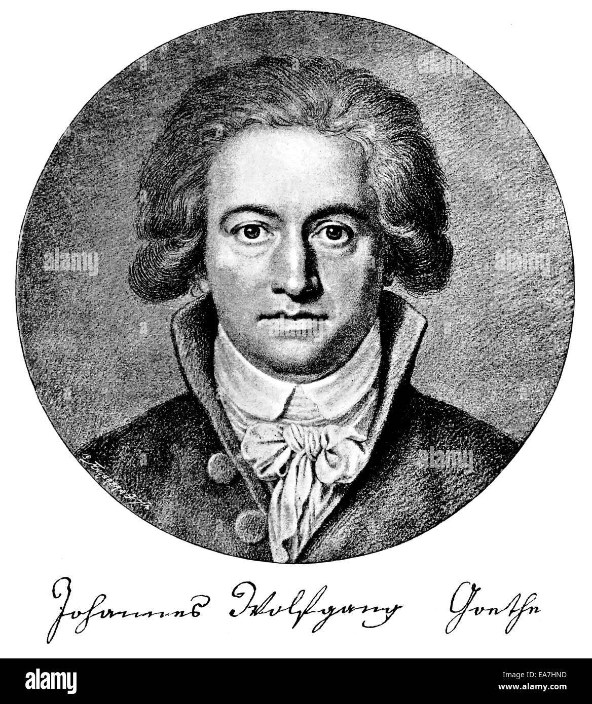 Von Johann Wolfgang Von Goethe Stock Photos Von Johann