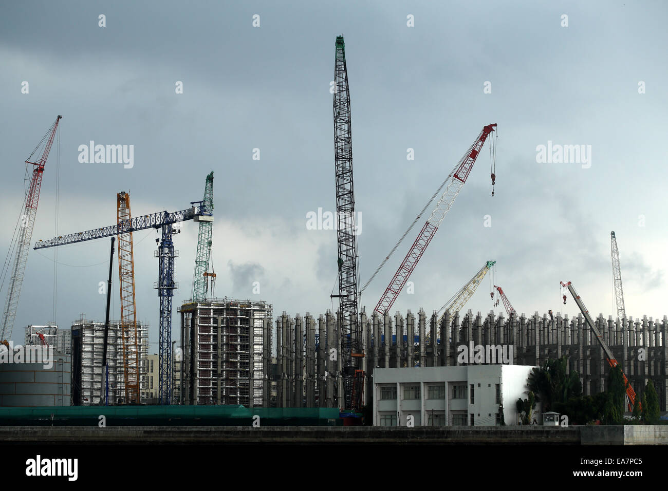 Crane Group appears to have a life together - Stock Image