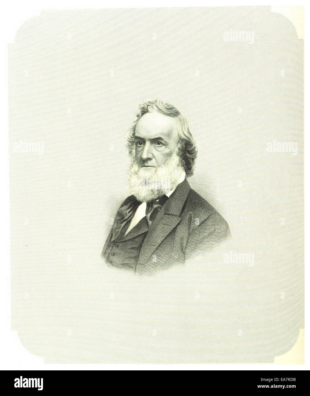 CRAFTS (1868) p1.442 GIDEON WELLES - Stock Image