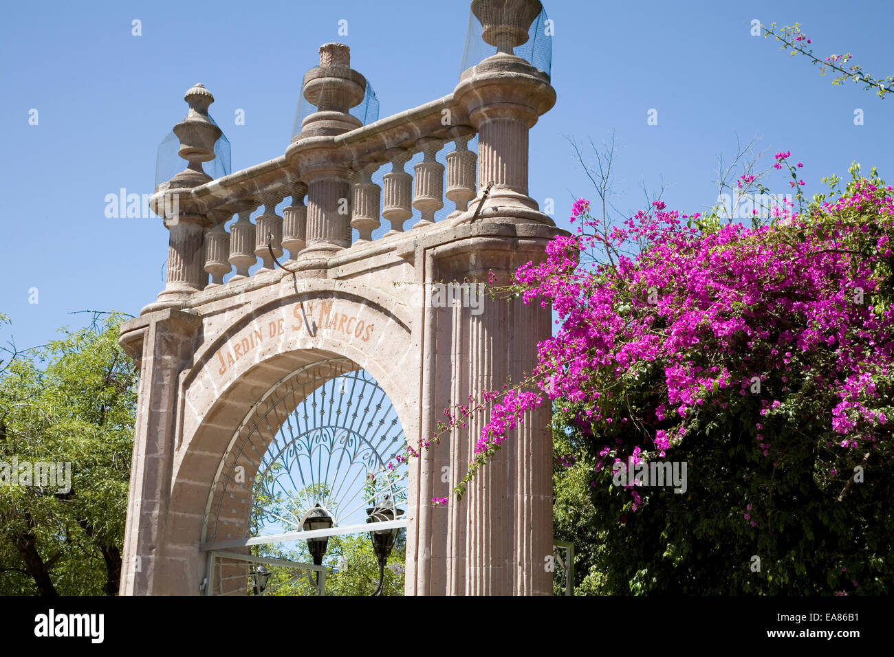 Jardin de San Marcos, Aguascalientes, Mexico Stock Photo: 75168661 ...