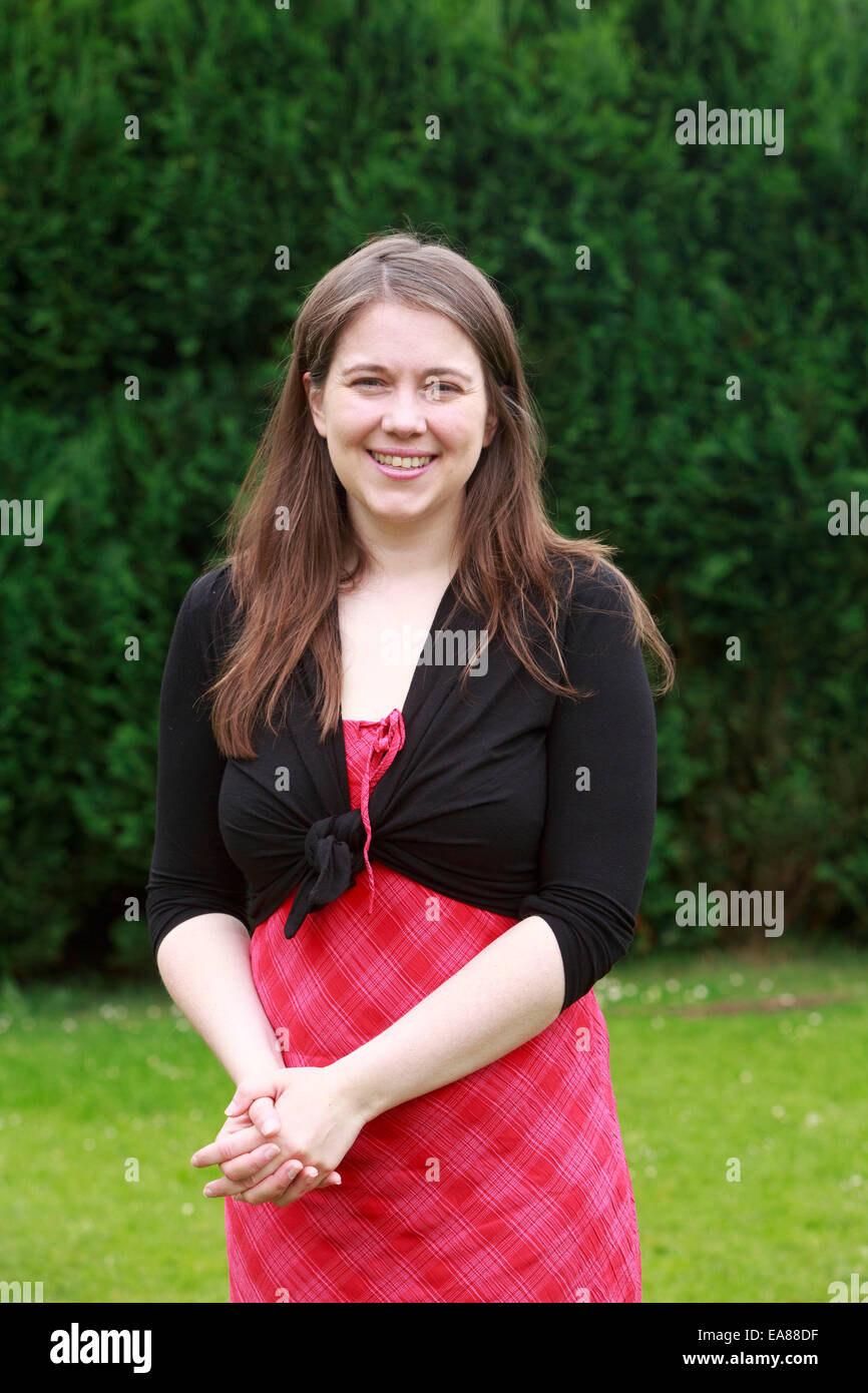 A portrait of Aileen Campbell Minister MSP - Stock Image
