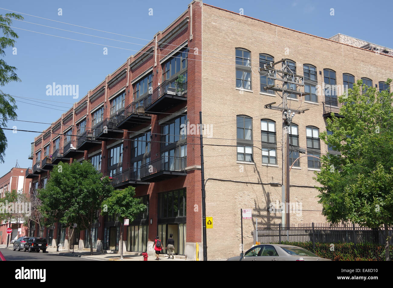 Old Industrial Buildings Converted To Residential Lofts
