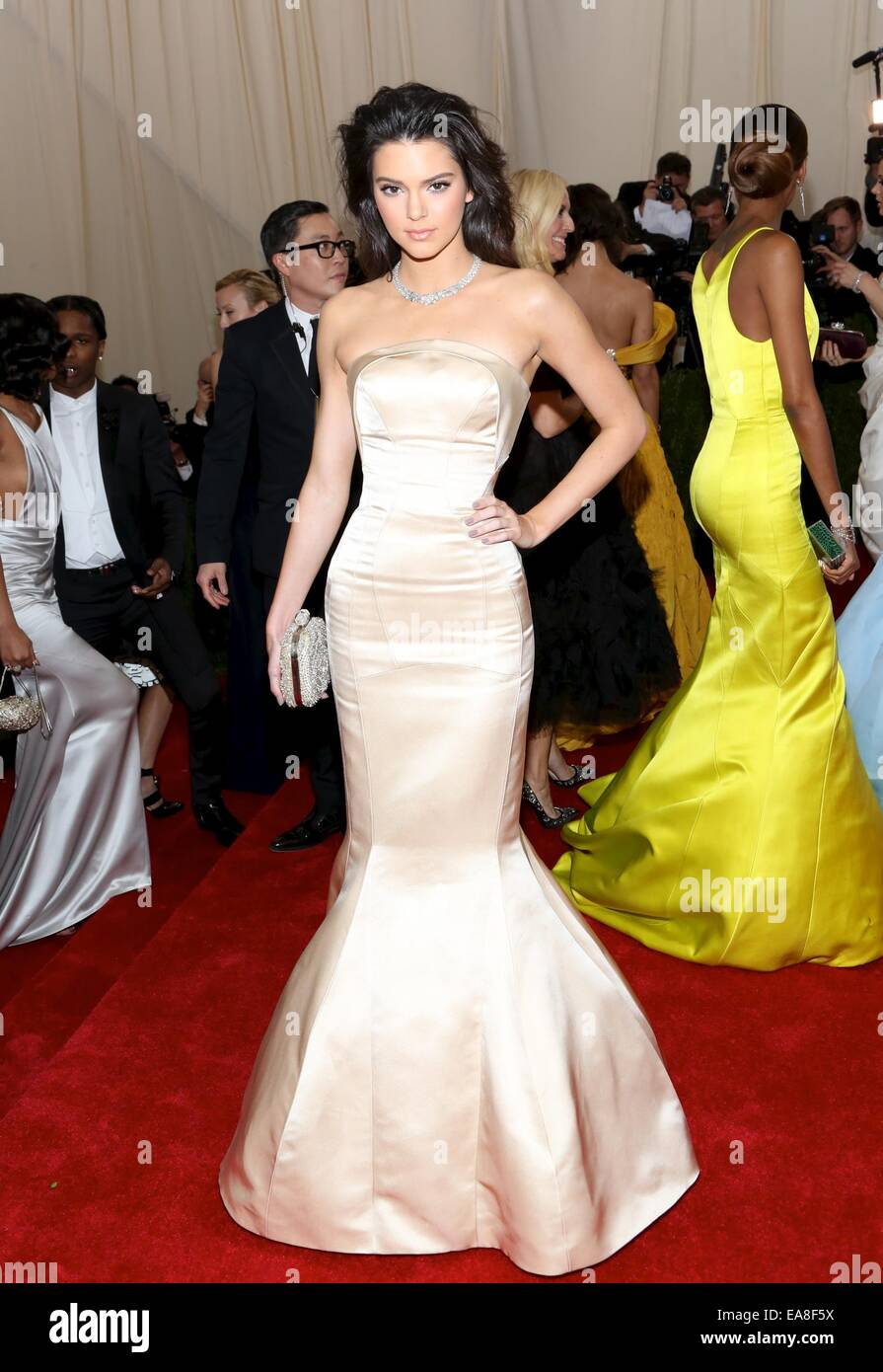 the 'Charles James: Beyond Fashion' Costume Institute Gala at the Metropolitan Museum of Art on May 5, 2014 - Stock Image