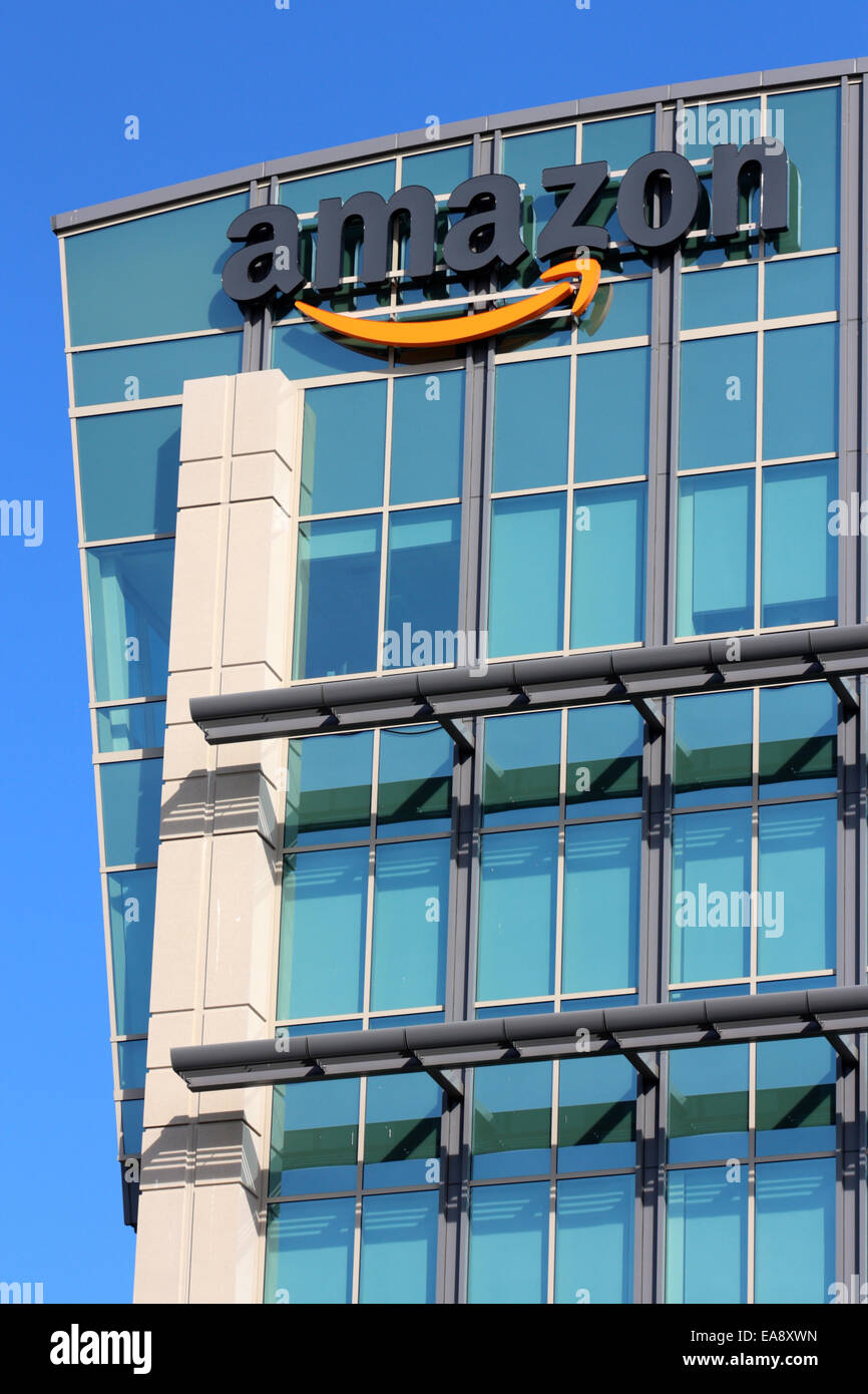Amazon Headquarters Stock Photos Amazon Headquarters Stock