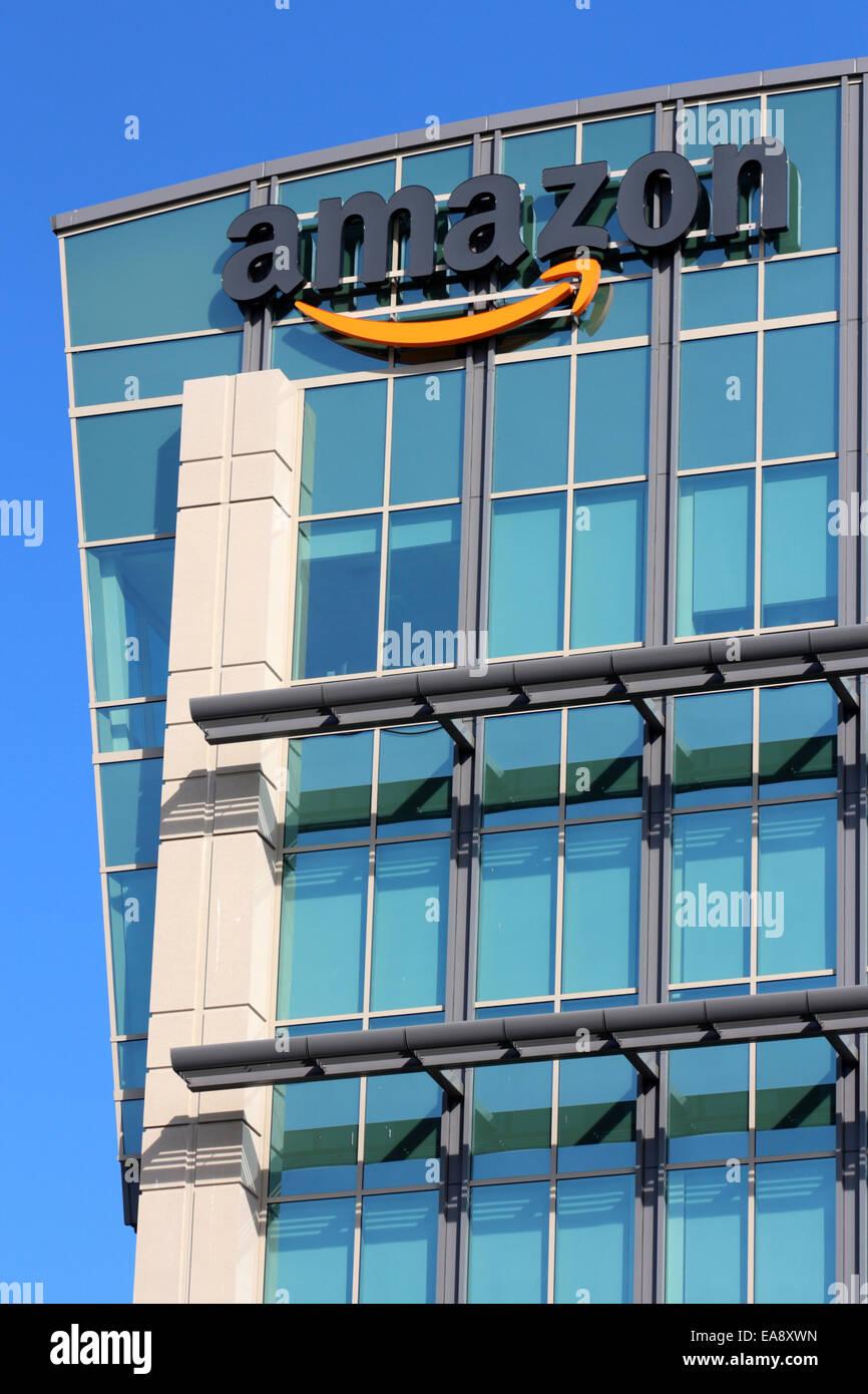 Amazon Corporate Office Building In Sunnyvale California Usa