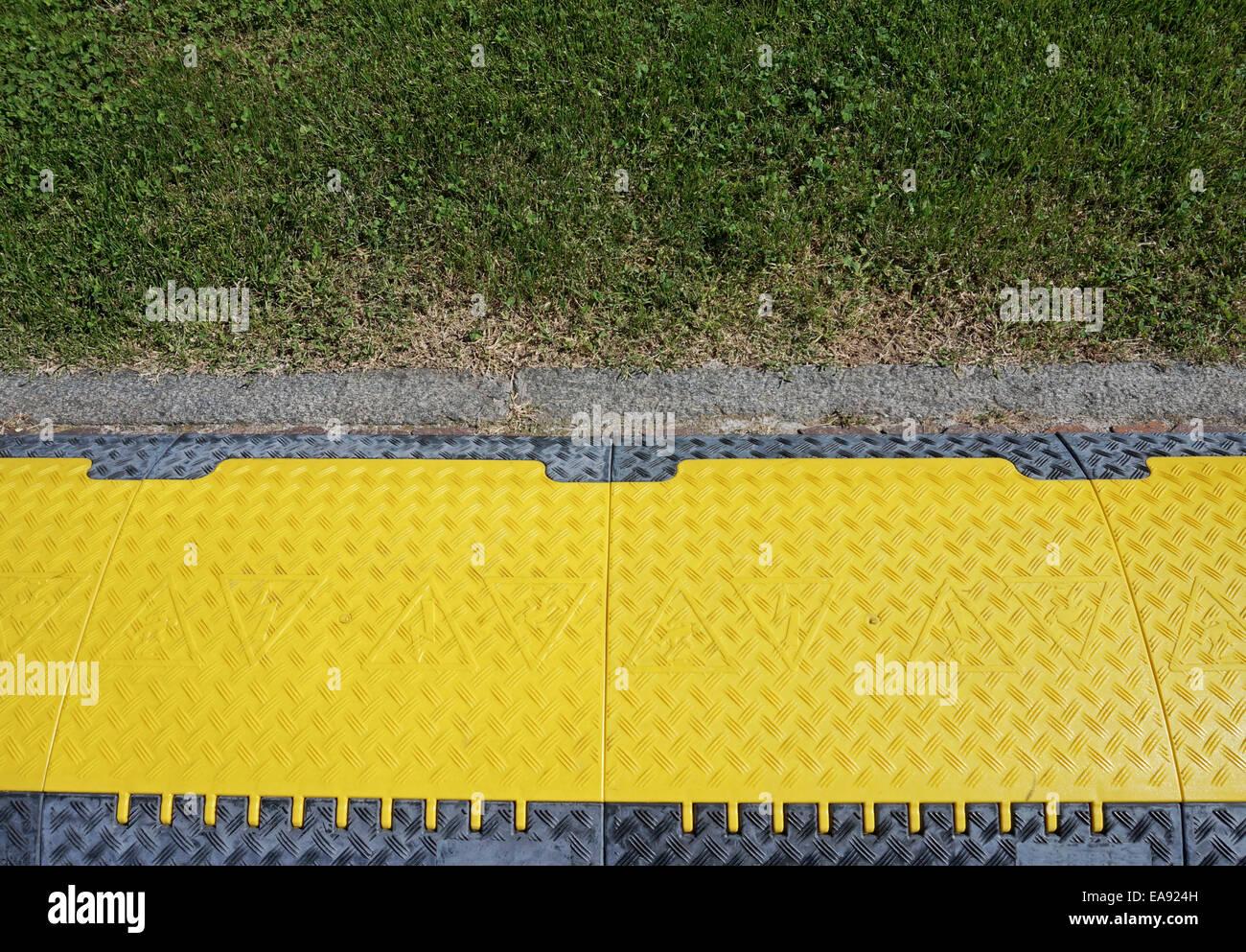 disabled ramp facilities - Stock Image